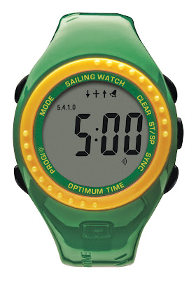 Your junior sailor will love this limited edition watch from Optimum Time.