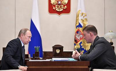 Vladimir Putin, Andrei Turchak.