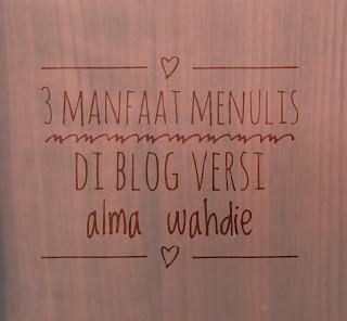manfaat menulis di blog