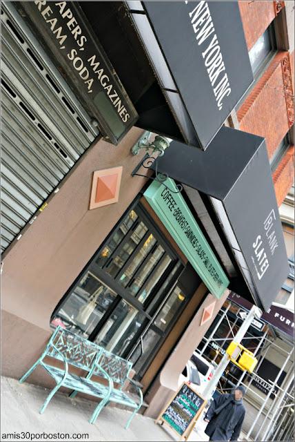 Cafeterías de Nueva York: Blank Slate