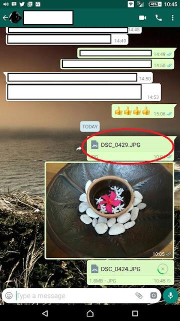 Cara Mengirimkan Foto Berkualitas Tinggi di WhatsApp - Blog Mas Hendra