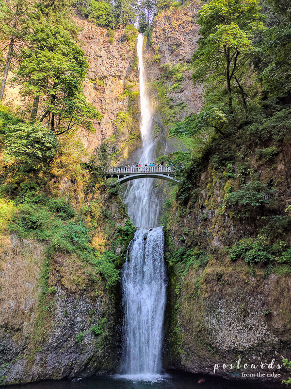Oregon's Multnomah Falls