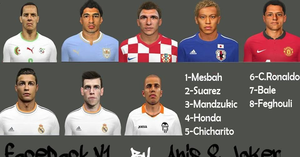 Versiculos De La Biblia De Animo: PES-MODIF: PES 2014 Facepack V1 By Anis And Joker