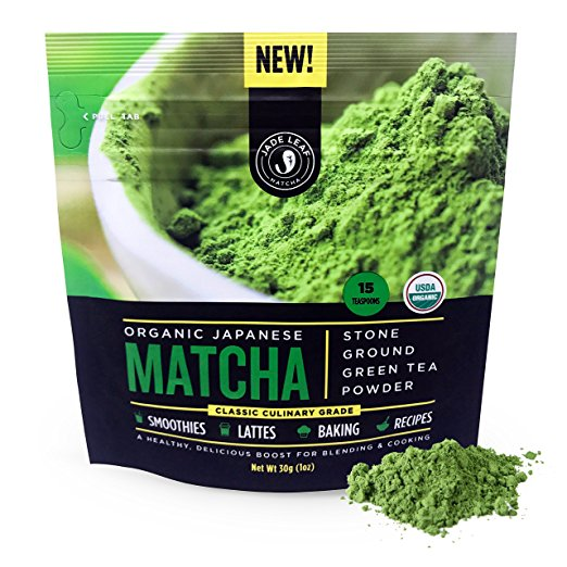 Jade Leaf Matcha Green Tea Powder - USDA Organic