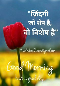 100+ Best Good Morning Images in Hindi For Whatsapp (2019