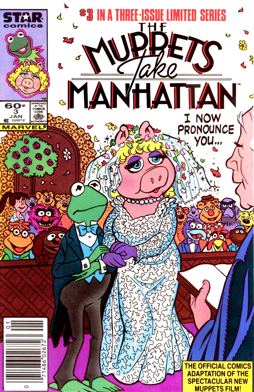 starlogged geek media again 1984 the muppets take marvel