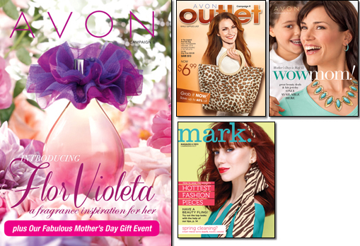 Avon Brochure April 2013