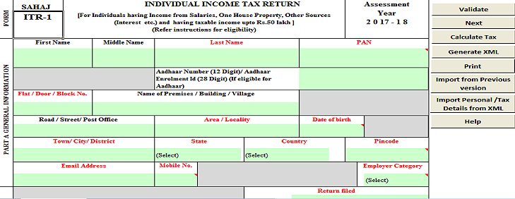 how to download xml file for income tax return