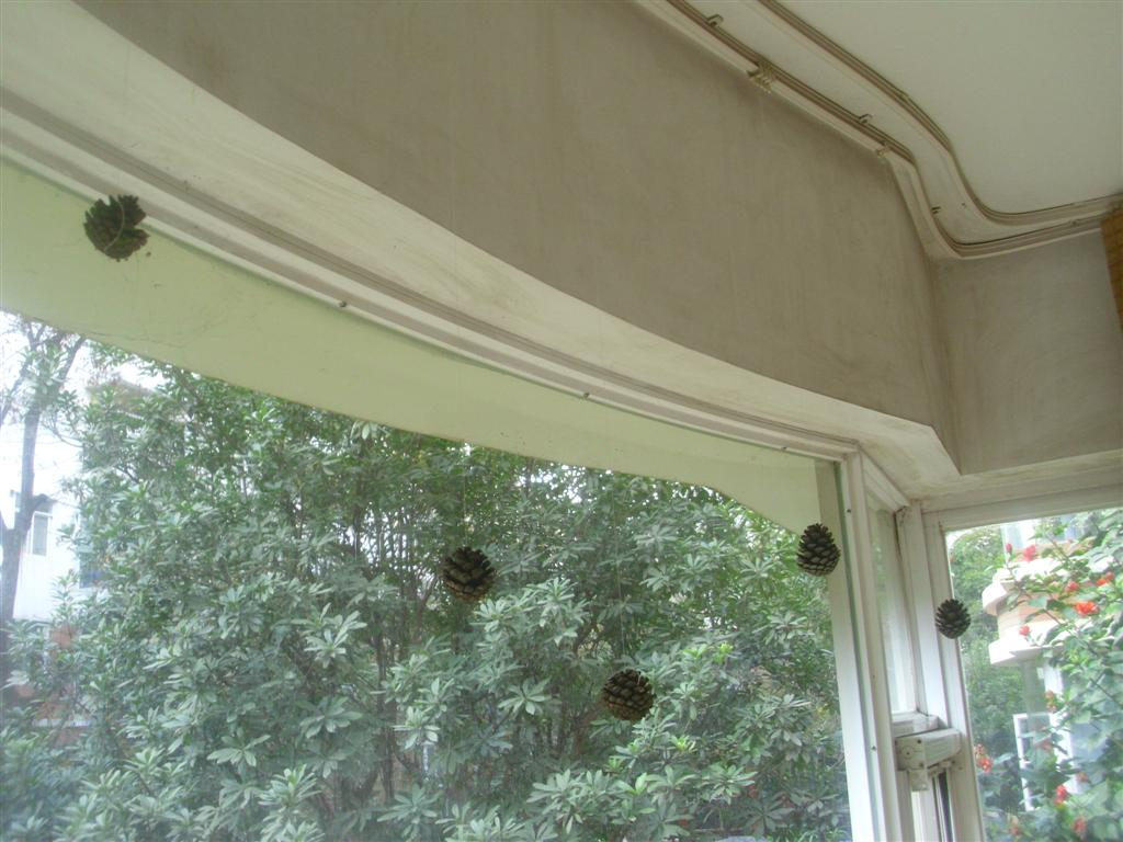 Do It Yourself Window Treatments: The Do-It-Yourself Mom: DIY Christmas Decorations: Pine