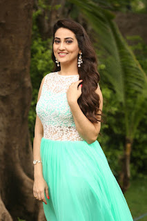Manjusha Looks Super cute in Green Sleeveless Anarkali Dress at Srirastu Subhamastu success meet
