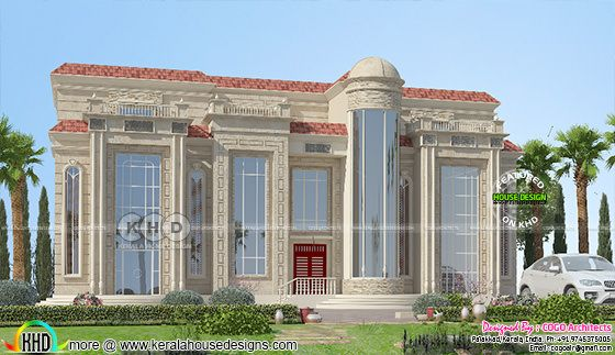 Arabic model luxury 5 bhk home