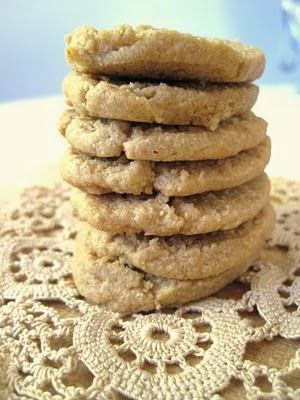 Peanut Butter Slice Cookies