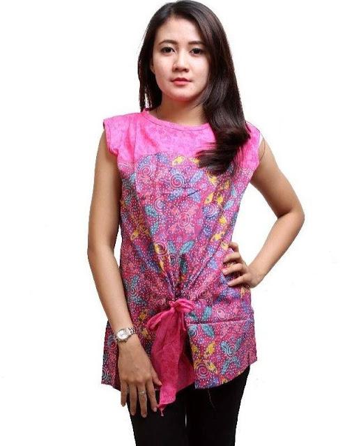 Baju Batik Kerja Wanita Danar Hadi