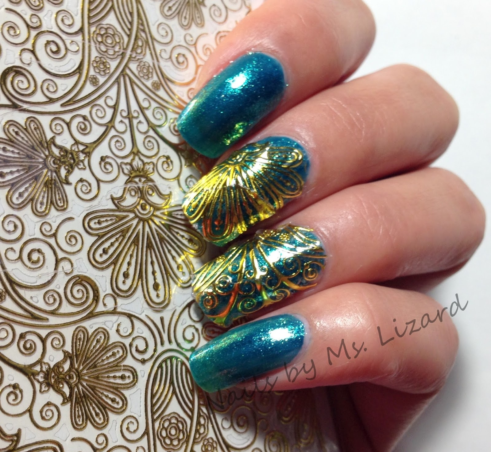 Nails by Ms. Lizard: Born Pretty Store:1 Sheet Embossed Flower 3D ...