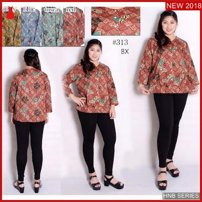 Hnb283 Model Dress Ukuran Besar Jumbo Batik Bigsize Bmg Shop
