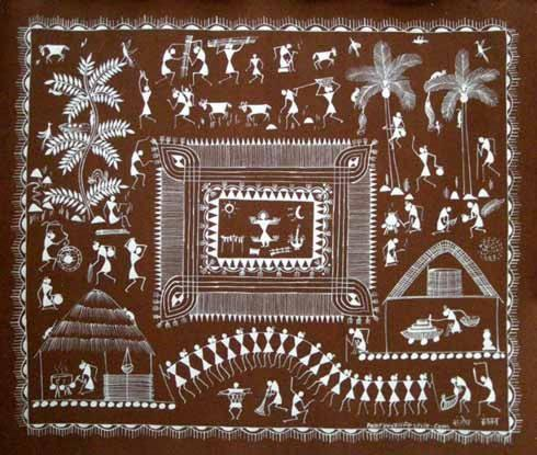 Indian Folk Art Warli Paintings