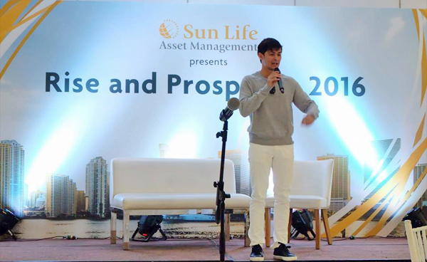 Sun Life and Matteo Guidicelli