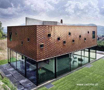 Residencia contemporánea en Suiza