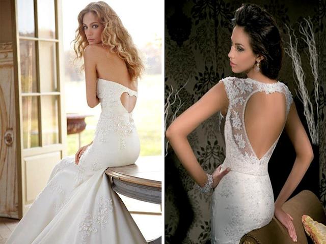 vestido de noiva coração