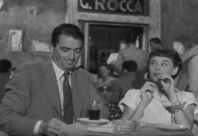 """""""Римские каникулы"""" 1953 г."""