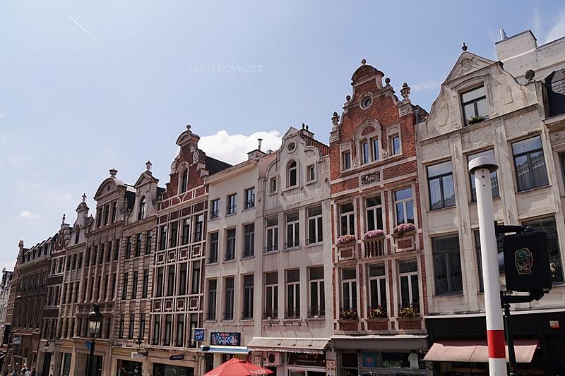 City of Brussels in summer // Innenstadt Brüssel im Sommer | Interrail-Reise Juli 2017 | Tasteboykott