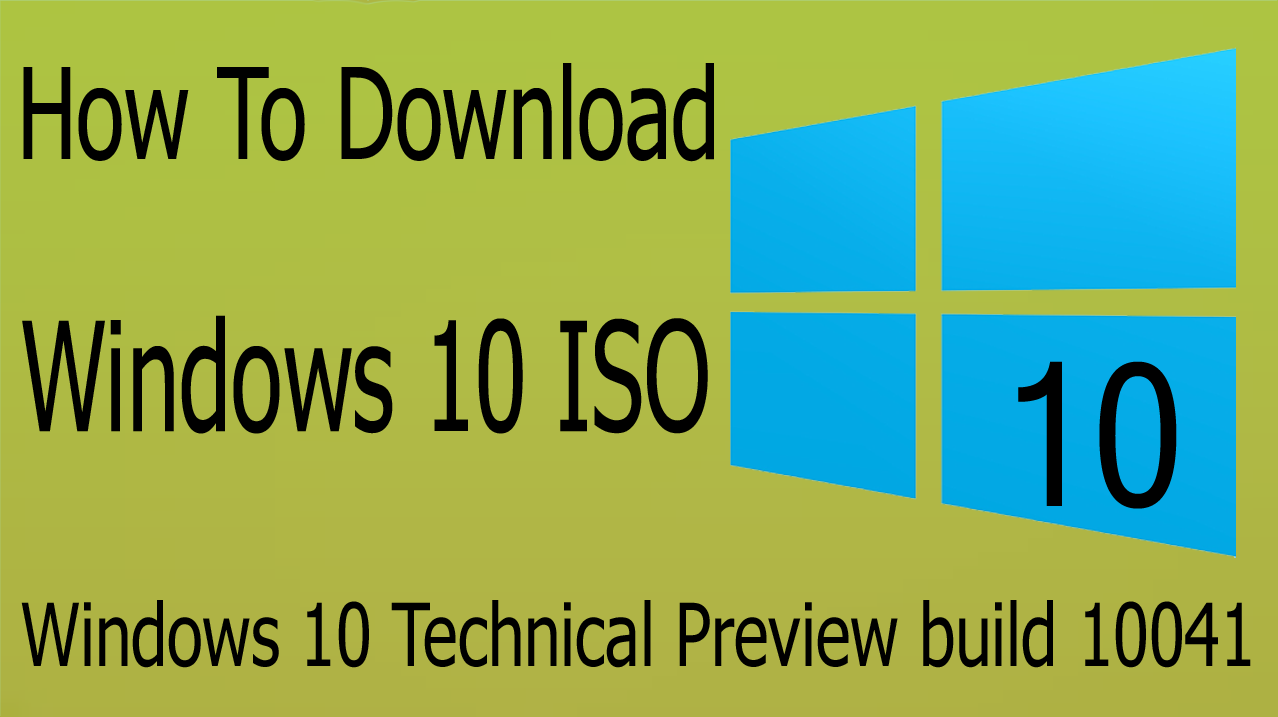 How to download windows 10 technical preview build 10041 iso offline actually downloading windows 10 technical preview build 10041 is not an easy job and even it becomes more difficult to download it if your internet ccuart Image collections