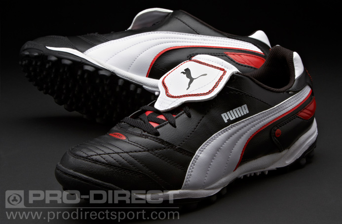 Online Futsal Shoes Shop  Puma Esito Finale TT - Black White Puma Red bd8830e35f34
