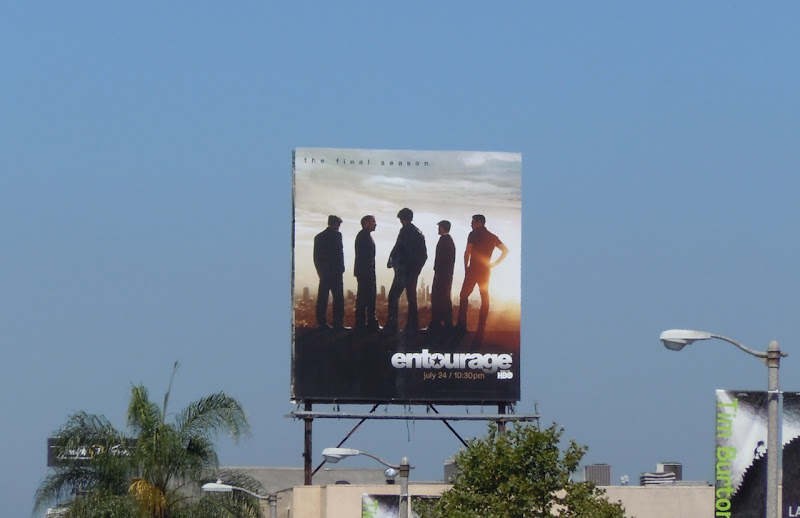 Entourage season 8 billboard