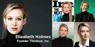 Elizabeth Holmes - Pendiri Theranos .Inc