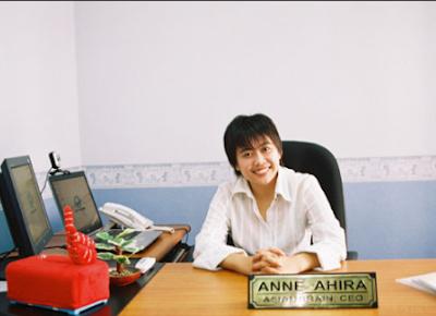 anne ahira adalah seorang marketer sukses wanita