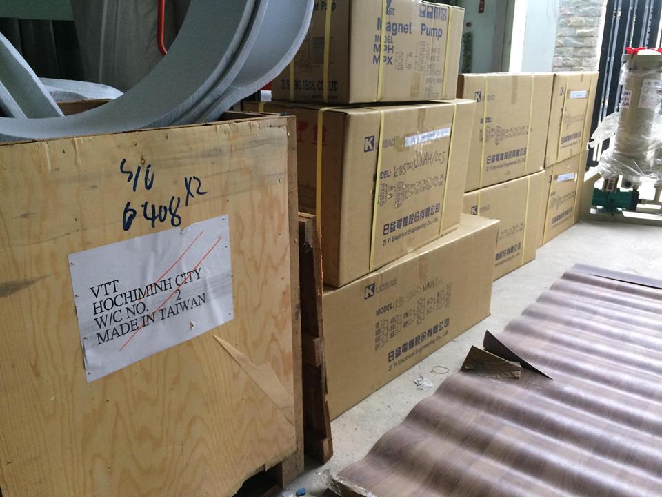 Nhà cung cấp máy bơm hóa chất Đài Loan