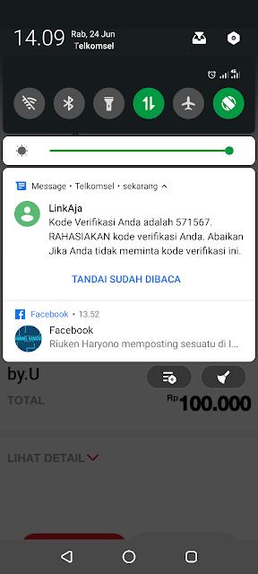 Cara Membeli Paket Unlimited By.U Tanpa Batas Kuota 30hari Harga Rp. 100.000