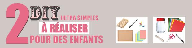2 diy faciles à réaliser pour ses enfants : Bored jar & Tableau des tâches et de routines
