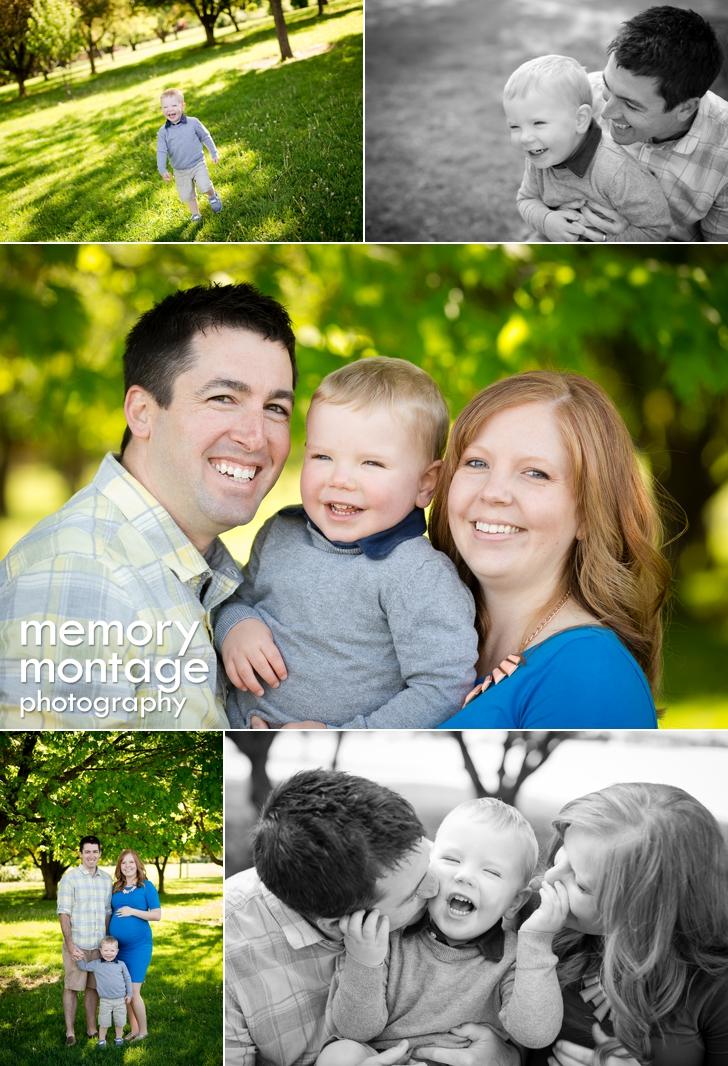 Yakima Arboretum Photography - Hutchins Family