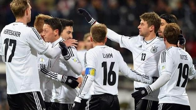 Watch Germany live online. World Cup Brazil 2014 games free streaming. Best websites for football matches without signing up