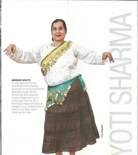 Ritambhara Sahni's belly dance institute mumbai review