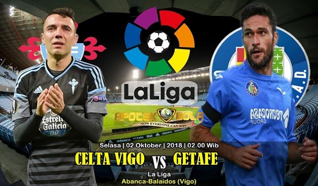 Prediksi Celta Vigo vs Getafe 02 Oktober 2018