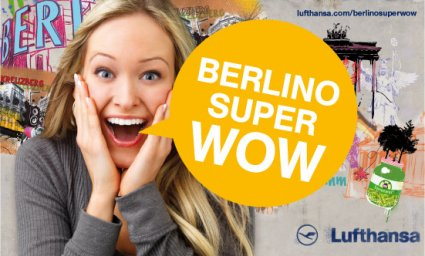 Berlino SUper Wow concorso Lufthansa