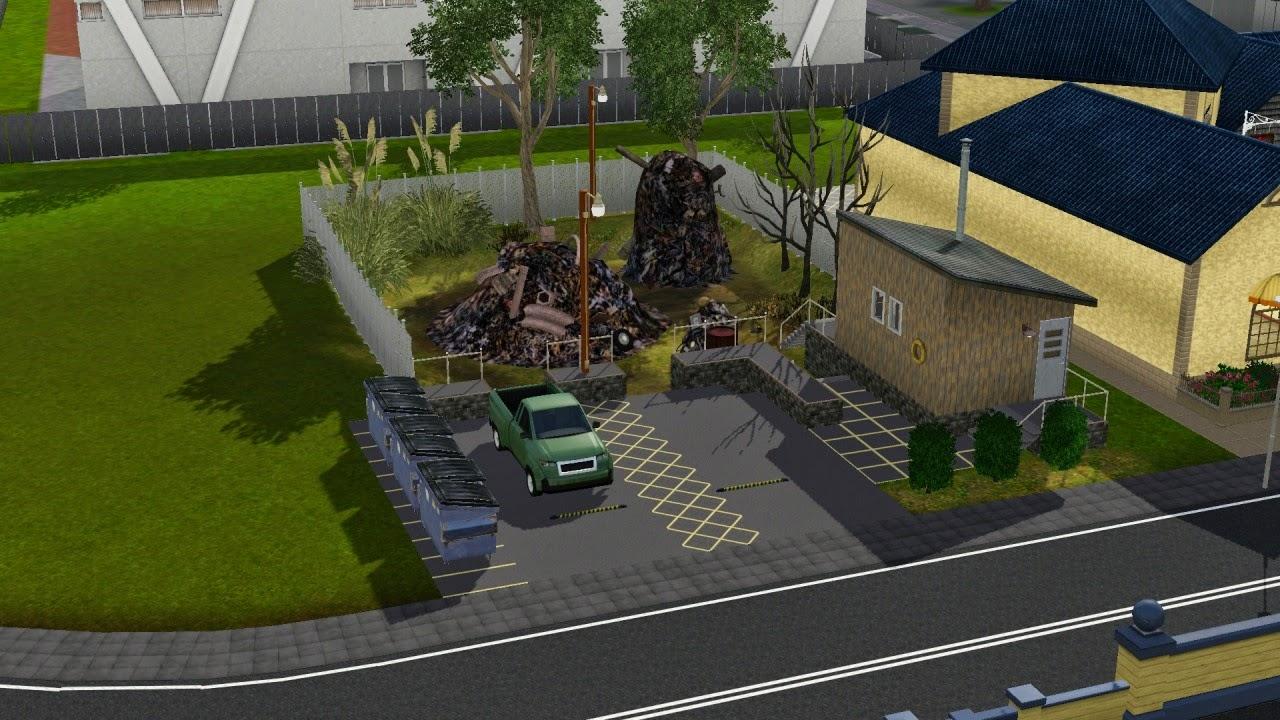 Sims 3 Community Lots Compendium : Sims 3 Junkyards