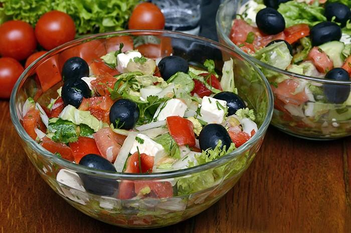 Салат греческий рецепт классический с пекинской капустой