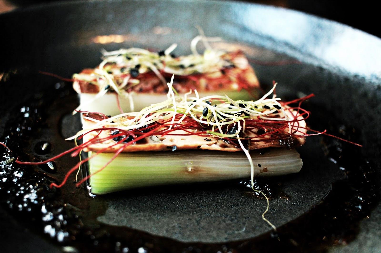 vorspeise tofu geräuchert