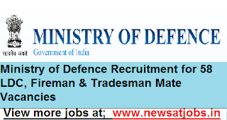 Ministry-of-Defence-Recruitment-for-58-LDC