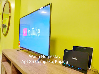 Warih-Homestay-Sri-Cempaka-With-Unlimited-High-Speed-Internet-And-Youtube-Ready
