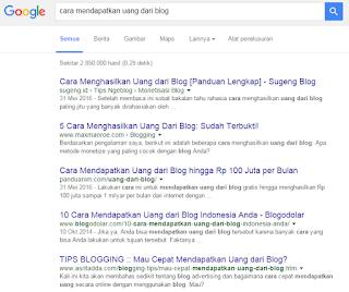 Diterima Google Adsense Full Approve