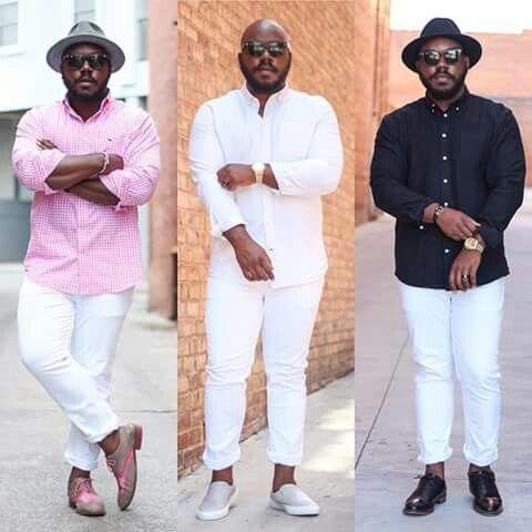 95f158ea8aa La Mejor Moda Para Hombres Gordos -Tallas Especiales : Elegante Moda ...