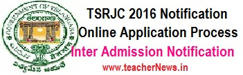TSRJC Inter Counseling Dates 2018 MPC BiPC Certificates Verification Schedule