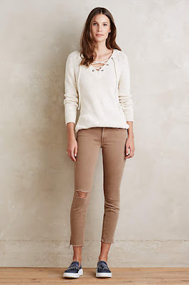 New arrival pants - crops, chinos, and cargos- from Anthropologie