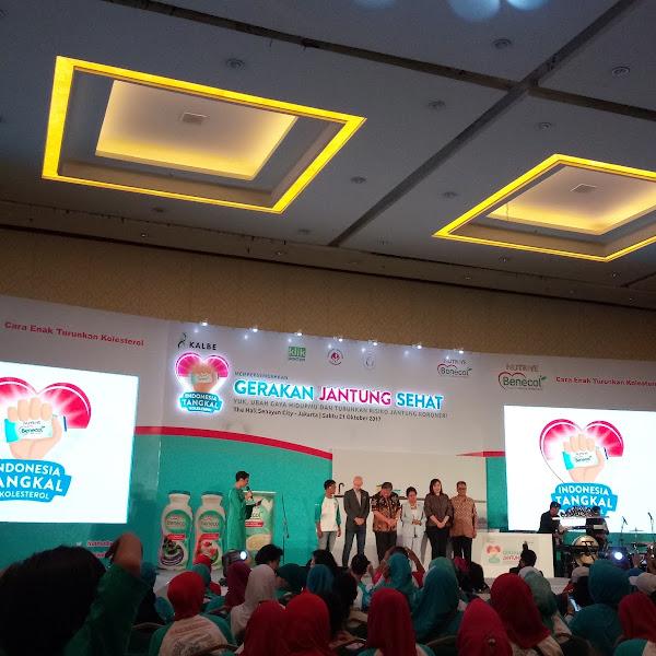 Gerakan Jantung Sehat, Indonesia Tangkal Kolesterol Bersama Nutrive Benecol