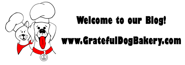 Welcome to Grateful Dog Bakery's Blog!