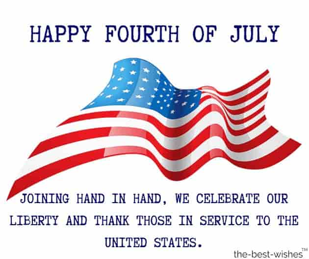 happy fourth of july message